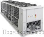 Чиллеры с воздушным охлаждением конденсатора, с центробежными вентиляторами, внутренней установки