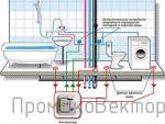 Схема размещения - защита от протечек воды